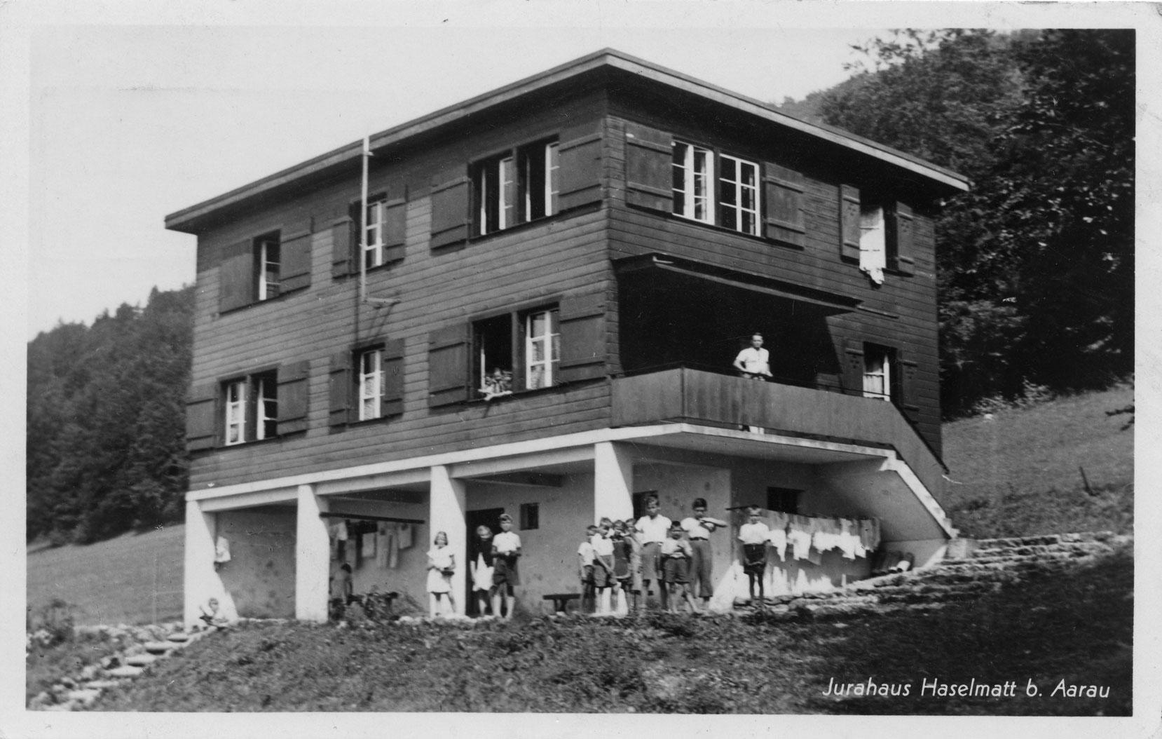 Das Haselhaus 1940 (Bild: © Schweiz. Sozialarchiv)